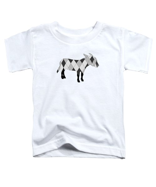 Donkey Toddler T-Shirt by Mordax Furittus