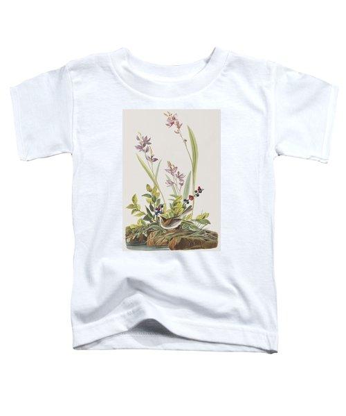 Field Sparrow Toddler T-Shirt by John James Audubon