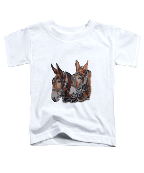 Hitched Toddler T-Shirt by Gary Thomas