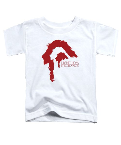Liberty Lions Logo Toddler T-Shirt by Ryan Anderson