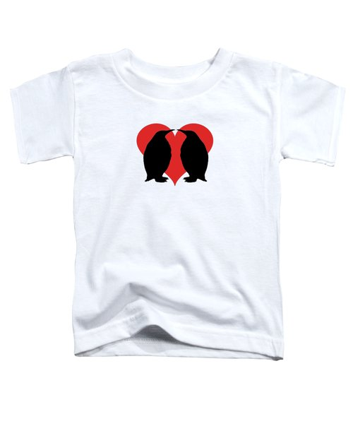Penguins Toddler T-Shirt by Mordax Furittus