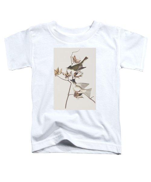 Pewit Flycatcher Toddler T-Shirt by John James Audubon
