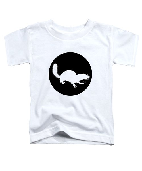 Squirrel Toddler T-Shirt by Mordax Furittus