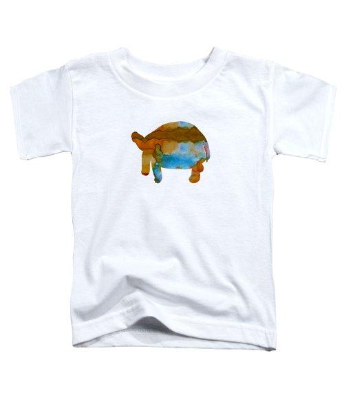 Tortoise Toddler T-Shirt by Mordax Furittus