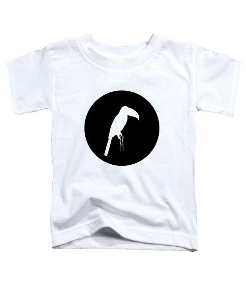 Toucan Toddler T-Shirt by Mordax Furittus