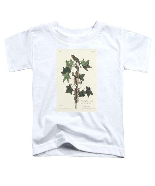 Traill's Flycatcher Toddler T-Shirt by John James Audubon