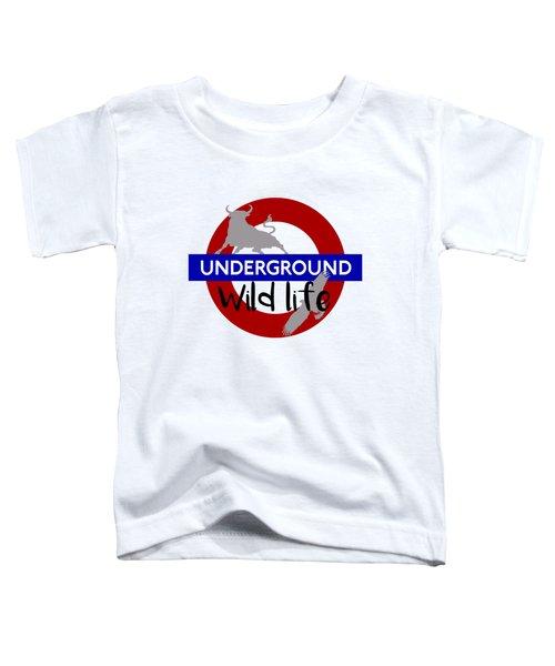Underground.2 Toddler T-Shirt by Alberto RuiZ