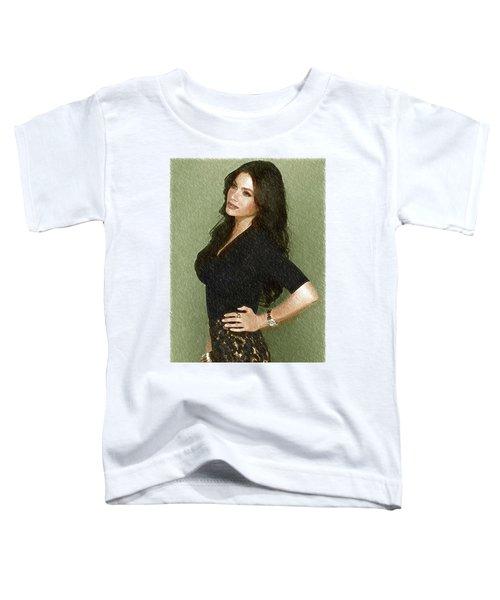 Celebrity Sofia Vergara  Toddler T-Shirt by Best Actors
