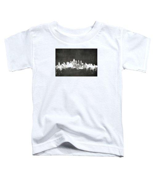 Philadelphia Pennsylvania Skyline Toddler T-Shirt by Michael Tompsett