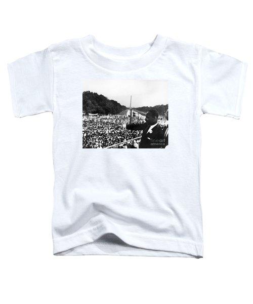 Martin Luther King, Jr Toddler T-Shirt by Granger