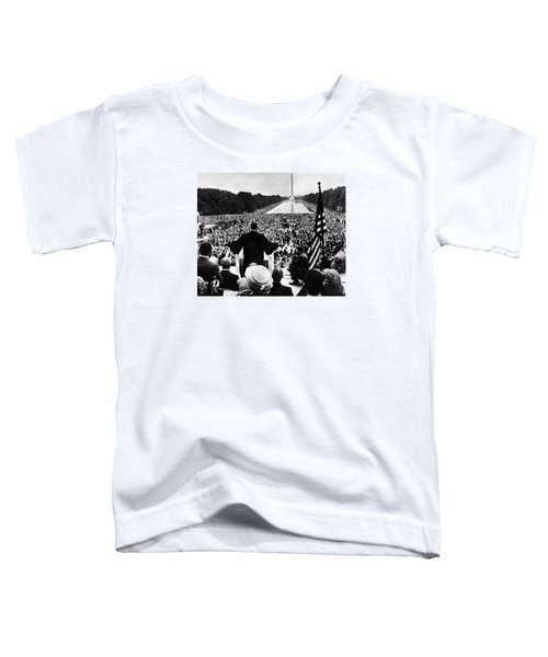 Martin Luther King Jr Toddler T-Shirt by American School