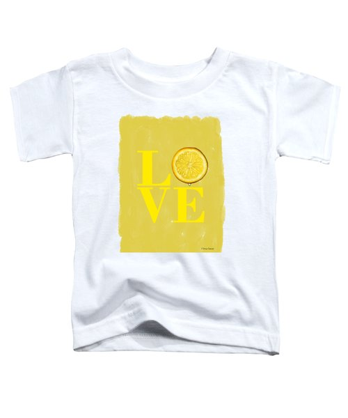 Lemon Toddler T-Shirt by Mark Rogan