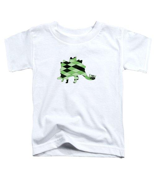 Stegosaurus Toddler T-Shirt by Mordax Furittus