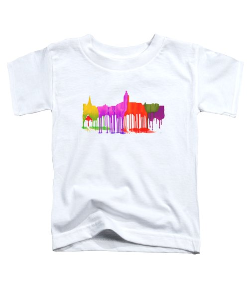 Annapolis Maryland Skyline      Toddler T-Shirt by Marlene Watson