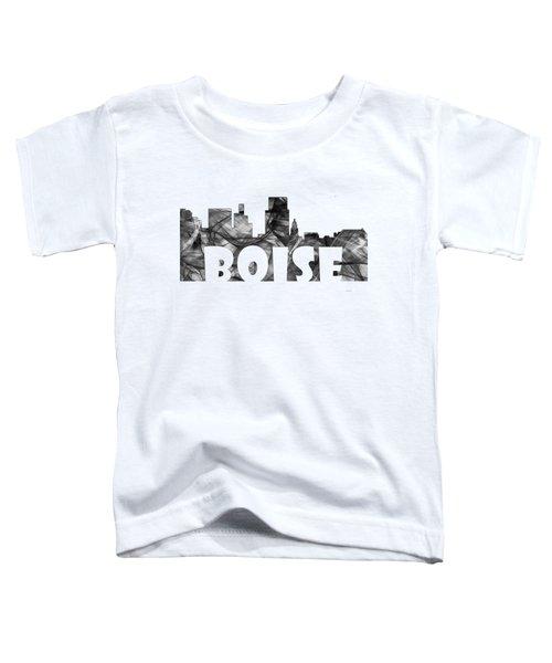 Boise Idaho Skyline Toddler T-Shirt by Marlene Watson
