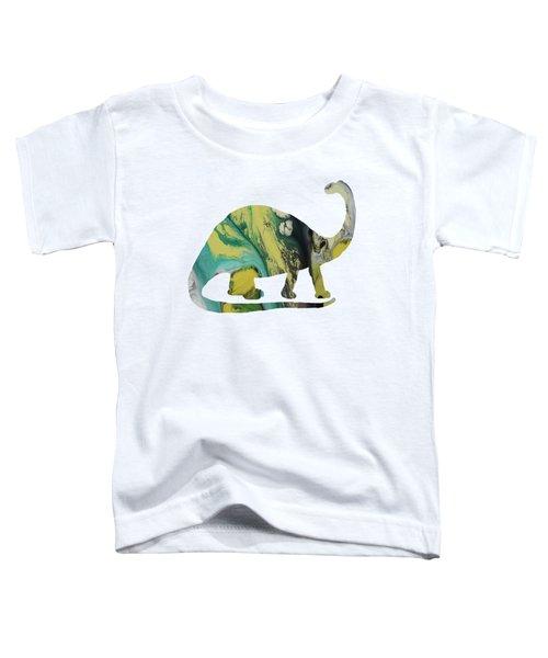 Brontosaurus Toddler T-Shirt by Mordax Furittus