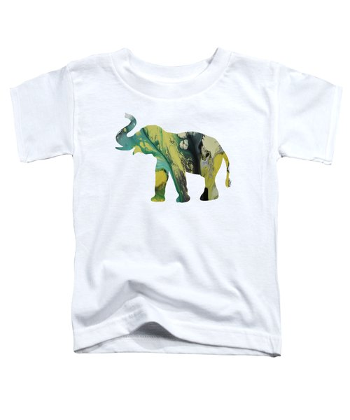 Elephant Toddler T-Shirt by Mordax Furittus