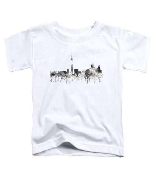 Toronto Ont.skyline Toddler T-Shirt by Marlene Watson