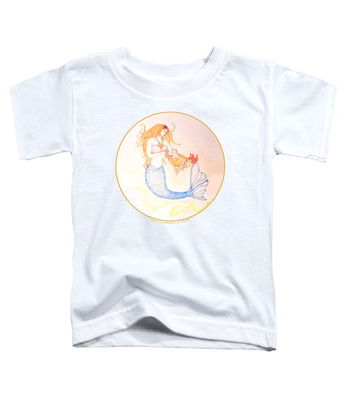 Mermaid Toddler T-Shirt by M Gilroy