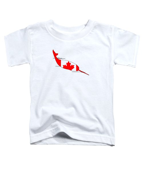 Narwhal Toddler T-Shirt by Mordax Furittus