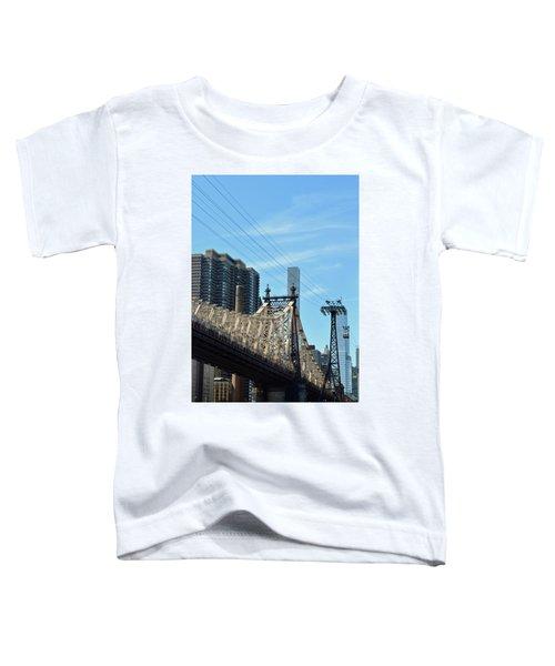 59th Street Bridge No. 4 Toddler T-Shirt by Sandy Taylor