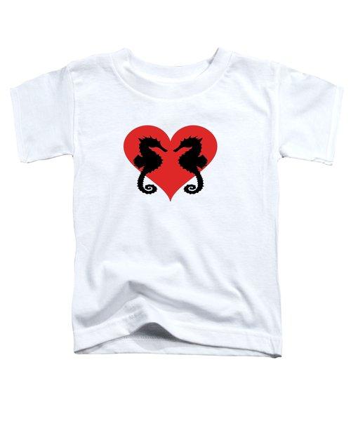 Seahorse Toddler T-Shirt by Mordax Furittus