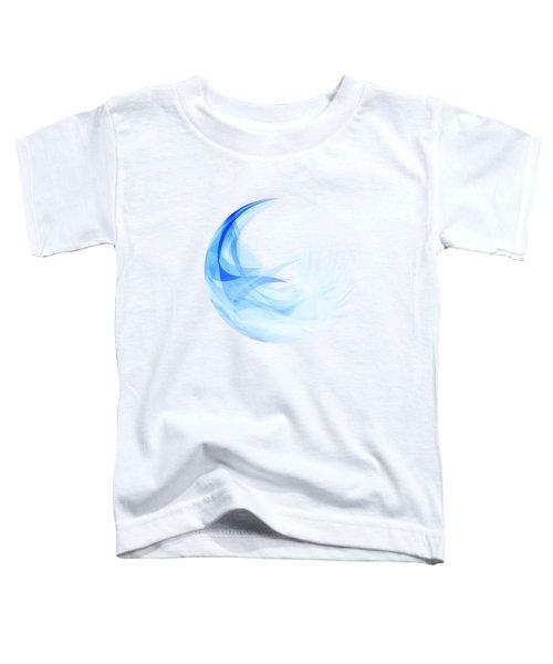 Abstract Feather Toddler T-Shirt by Setsiri Silapasuwanchai