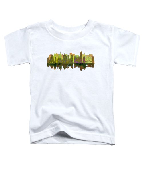 London England Skyline Toddler T-Shirt by John Groves
