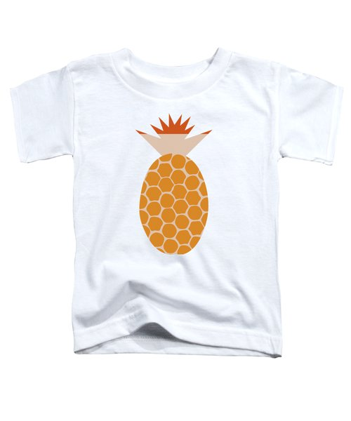 A Pineapple A Day Keeps The Doctor Away Toddler T-Shirt by Frank Tschakert