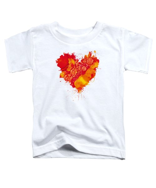 Abstract Intensity Toddler T-Shirt by Nikki Marie Smith