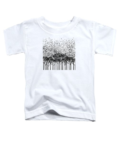 Aki Monochrome Toddler T-Shirt by Cynthia Decker
