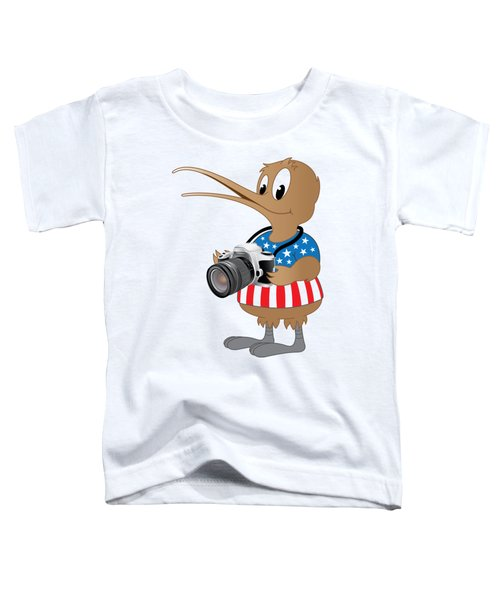American Kiwi Photo Toddler T-Shirt by Mark Dodd