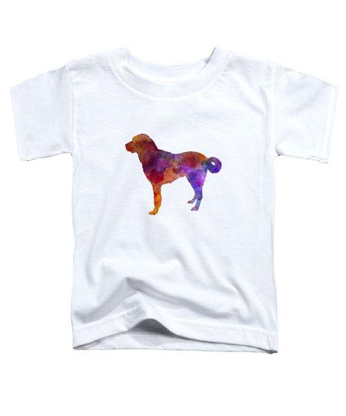 Anatolian Shepherd Dog In Watercolor Toddler T-Shirt by Pablo Romero