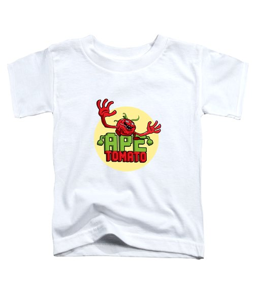 Ape Tomato Toddler T-Shirt by Nicolas Palmer