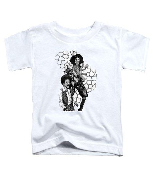 Michael Toddler T-Shirt by Terri Meredith
