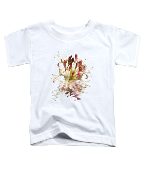 Honeysuckle Reflections Toddler T-Shirt by Gill Billington