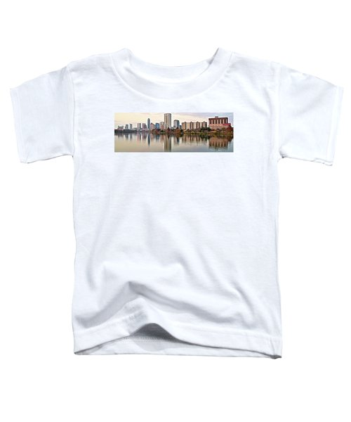 Austin Wide Shot Toddler T-Shirt by Frozen in Time Fine Art Photography