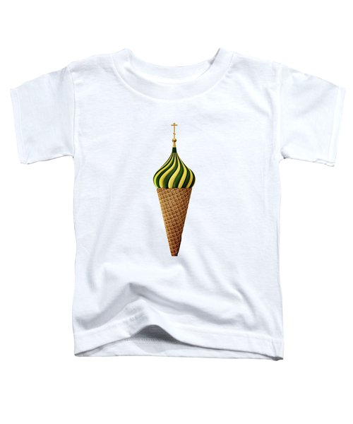 Basil Flavoured Toddler T-Shirt by Nicholas Ely