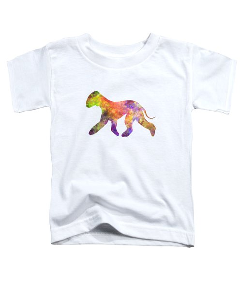 Bedlington Terrier 01 In Watercolor Toddler T-Shirt by Pablo Romero