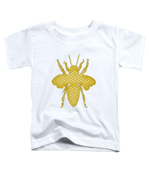 Bee Toddler T-Shirt by Mordax Furittus