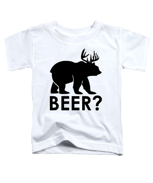 Beer? Toddler T-Shirt by Frederick Holiday