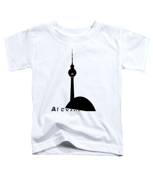 Berlin Alexanderplatz Toddler T-Shirt by Julie Woodhouse
