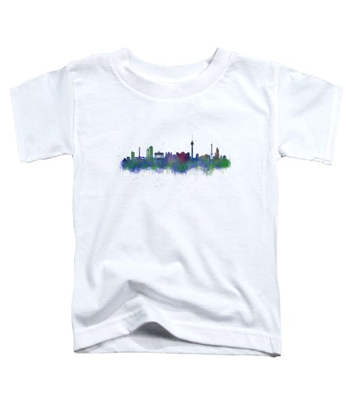 Berlin City Skyline Hq 2 Toddler T-Shirt by HQ Photo