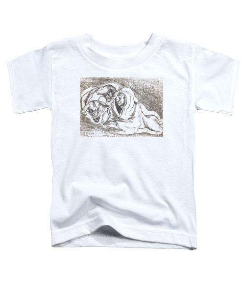 betrayal. May, 1996 Toddler T-Shirt by Tatiana Chernyavskaya