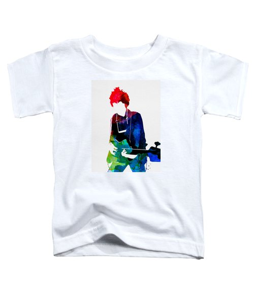 Bob Watercolor Toddler T-Shirt by Naxart Studio