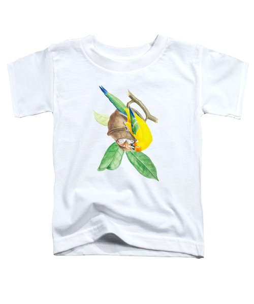 Brazilian Parrot Toddler T-Shirt by Philip Ralley