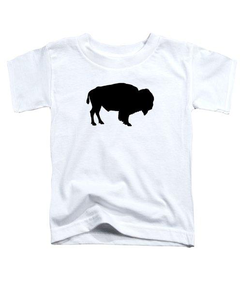 Buffalo Toddler T-Shirt by Mordax Furittus