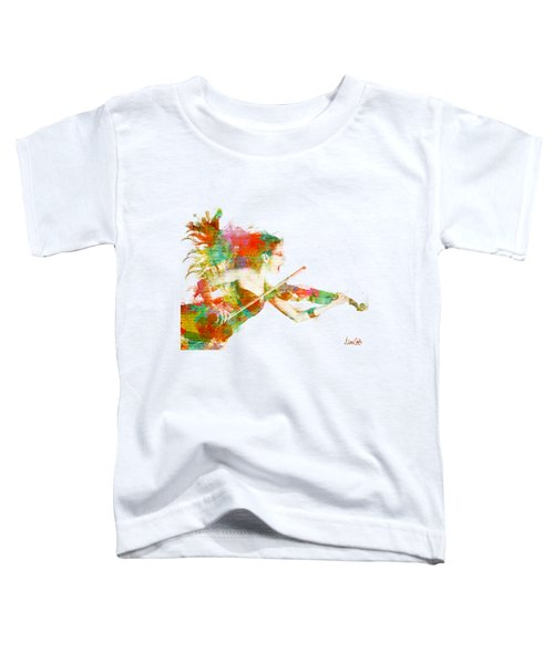 Can You Hear Me Now Toddler T-Shirt by Nikki Smith
