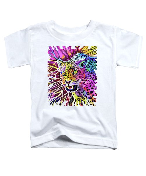 Cat Beauty Toddler T-Shirt by Anthony Mwangi