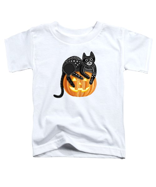 Cattober Toddler T-Shirt by Veronica Kusjen